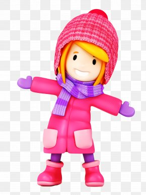 Play Stuffed Toy - Toy Doll Pink Action Figure Cartoon PNG