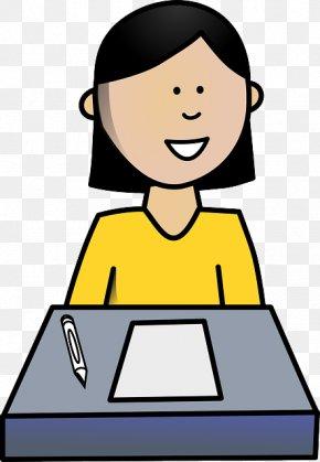 Student - Desk Student School Clip Art PNG