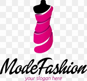 Exquisite Women's Fashion Logo Vector Material - Fashion Design Logo PNG