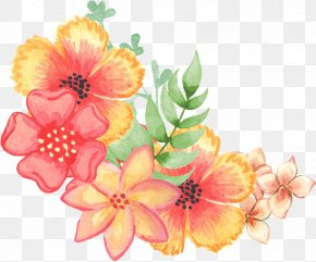 Flower - Floral Design Watercolor Painting Flower PNG
