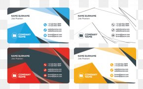 Fashion Business Card - Business Card Logo Flat Design PNG