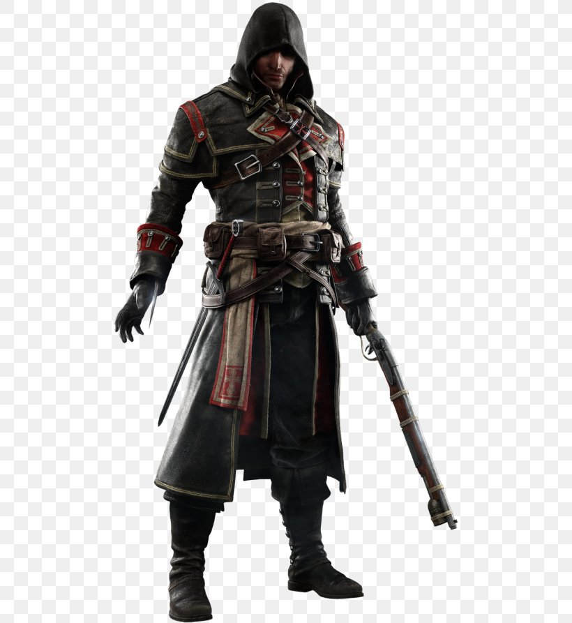 Assassin's Creed Rogue Assassin's Creed Syndicate Assassin's Creed IV: Black Flag Video Game, PNG, 500x893px, Assassin S Creed, Action Figure, Armour, Assassin S Creed Iv Black Flag, Assassin S Creed Syndicate Download Free