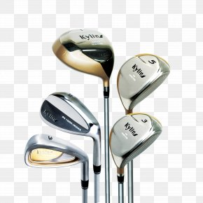 Golf Clubs - Sand Wedge Golf Club PNG
