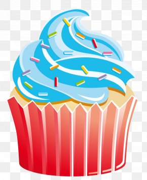 Olympic Torch - Cupcake Muffin Bakery Clip Art PNG