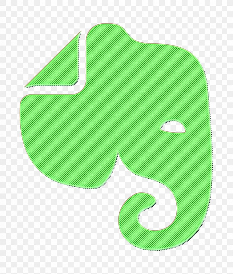 Evernote Icon, PNG, 878x1032px, Evernote Icon, Green, Logo, Symbol Download Free