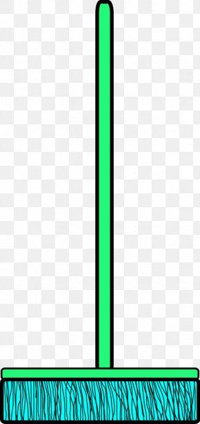 Broom Clip - Royalty-free Public Domain Green Clip Art PNG