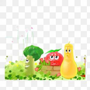 Cartoon,vegetables,poster - Vegetable Cartoon Tomato PNG