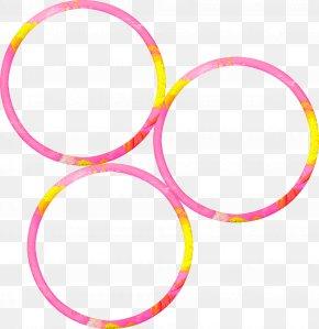 Pretty Pink Ring - Pink Circle Ring Rose PNG
