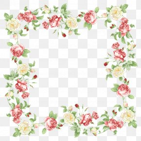 Bonito Border - Borders And Frames Borders Clip Art Floral Design Flower PNG