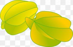 Buah - Carambola Fruit Clip Art PNG