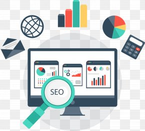 Flat Computer Elements - Digital Marketing Search Engine Optimization Pay-per-click Online Advertising PNG