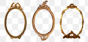 Baroque - Picture Frames Oval Decorative Arts PNG
