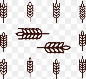 Rice Ear Icon - Wheat Cereal Rice Icon PNG