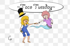 Taco Tuesday - Homo Sapiens Clothing Accessories Human Behavior Clip Art PNG