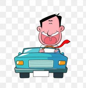 Motorists - Driver Cartoon PNG