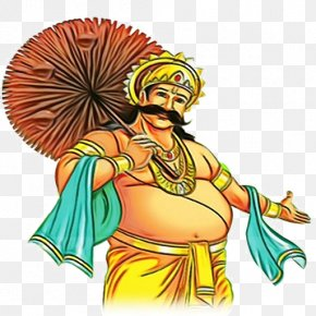 India South India - Onam Mahabali PNG