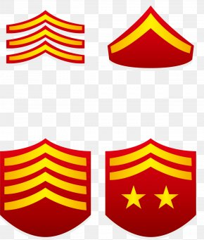 Red Rank In Military Academy - Military Rank United States Army Military School PNG