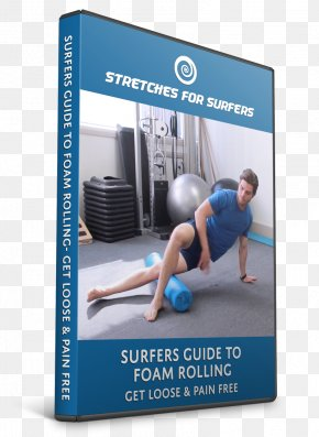 Foam Roller - Physical Fitness Joint Weight Training Exercise PNG