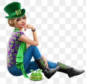 Saint Patrick's Day - Saint Patrick's Day 17 March Woman PNG