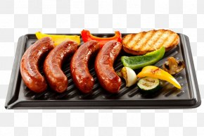 Sausage - Hamburger Barbecue Grilling Cooking Food PNG