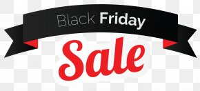Black Friday - Black Friday Discounts And Allowances Sales Banner Clip Art PNG