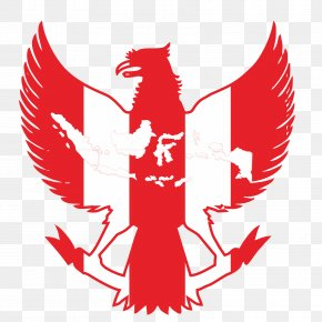 Vektor - Indonesia National Under-19 Football Team Garuda National Emblem Of Indonesia PNG