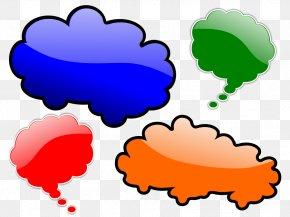 Cloud Blowing Wind Cartoon - Cloud Speech Balloon Clip Art PNG