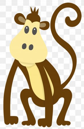 Monkey - Vector Graphics Image Drawing PNG