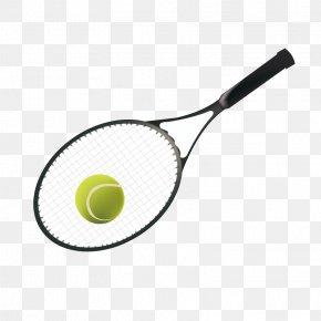 Tennis Racket - Racket Tennis Sports Equipment Ball PNG