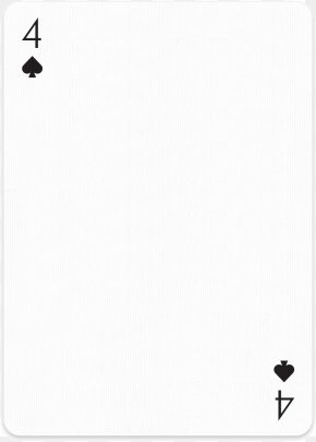 Blank Cards - Web Page Playing Card Download PNG