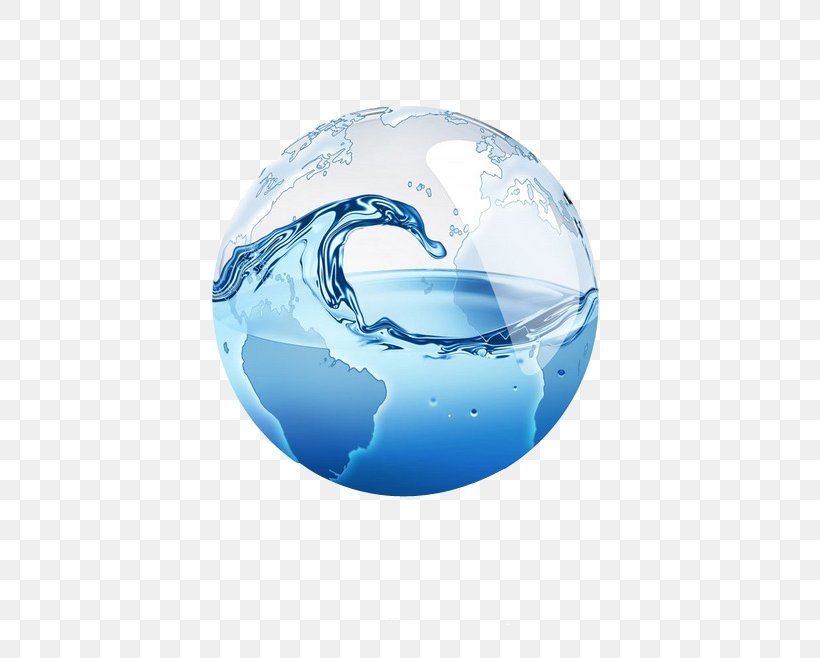 Water Conservation Water Treatment Water Supply Desalination, PNG, 658x658px, Globe, Alkalinity, Blue, Drinking Water, Fresh Water Download Free