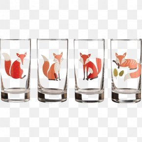 Cup Fox - Paper Source Glass Cup Drinking PNG