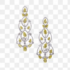 Jewellery - Earring Jewellery Diamond Necklace PNG