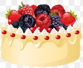 Fruit Cake With Candle Clipart Image - Fruitcake Wedding Cake Birthday Cake Clip Art PNG