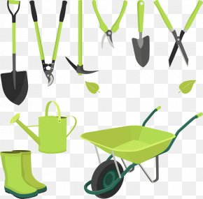 Vector Carts And Shovels - Garden Tool Gardening Spade PNG