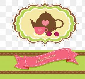 Vector Teapot - Teapot Tea Party Clip Art PNG