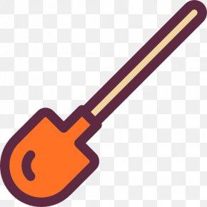 A Shovel - Gardening Shovel Garden Tool Icon PNG