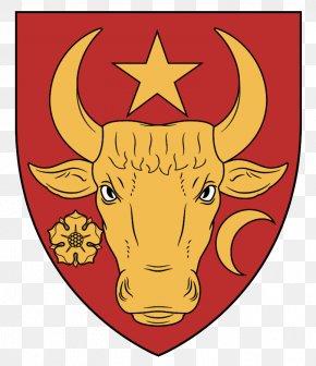 Texas Longhorn Sticker - Flag Cartoon PNG