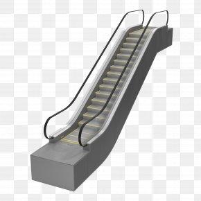 Escalator Image - Escalator Elevator 3D Modeling 3D Computer Graphics PNG