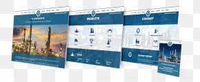 Platform Brand Design - WordPress Petroleum Brand Web Design PNG