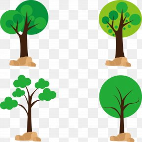 Vector Trees - Tree Download Euclidean Vector PNG