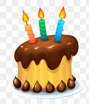 Birthday Cake - Birthday Cake Chocolate Cake Wedding Cake Cupcake PNG