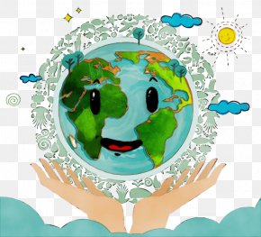 World Earth - Green Earth World PNG