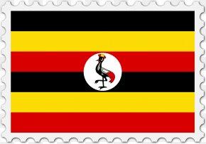 Flag - Flag Of Uganda National Flag Flag Of Senegal PNG