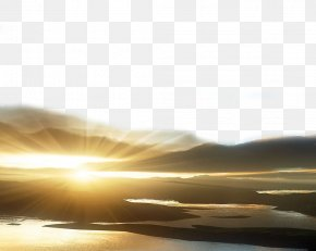Sunlight That Penetrates The Clouds - Sunlight Cloud Wallpaper PNG