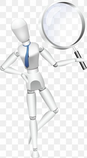Hold The Magnifying Glass - Magnifying Glass PNG