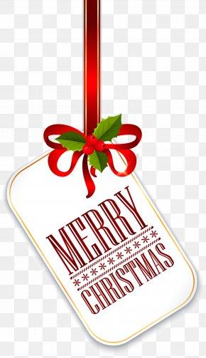 Christmas Tag PNG