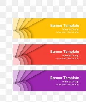 Banner Vector Material - Euclidean Vector Banner PNG