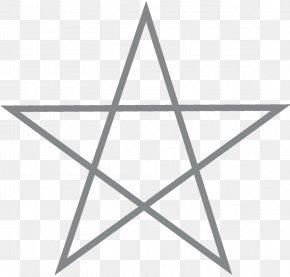Symbol - Pentagram Pentacle Star Polygon Symbol Triangle PNG
