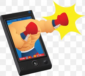 Boxing Smartphone - Smartphone Boxing Mobile Phone Muay Thai PNG